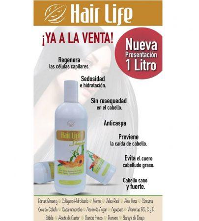 Hair Life Shampoo 1 lt